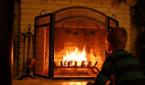 how to use a real fireplace