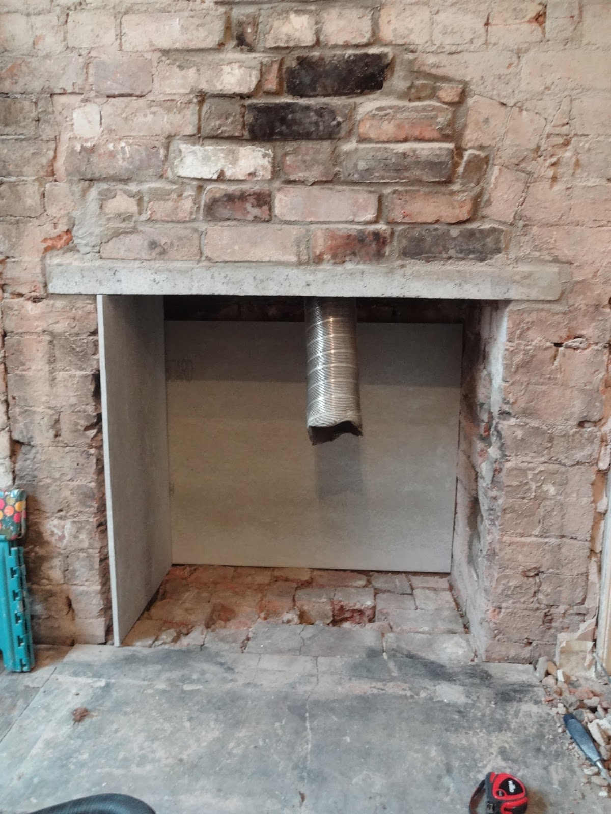 How Can I Seal The Large Gap Around My Fireplace Boca